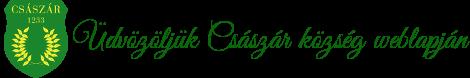 Császár Község Honlapja